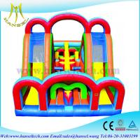 Wholesale Hansel Inflatable Sport Games , Inflatable obstacle Course for Adult from china suppliers