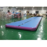 Outdoor Air Track Gymnastics Mat Training Set , Inflatable Mattress Sport Air Track