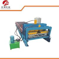 Wholesale 1000 Model Step Roofing Tiles Roll Forming Machine Fully Automatic Blue Color from china suppliers