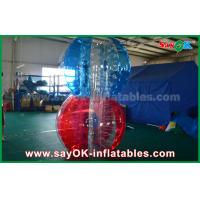 Transparent TPU Inflatable Sports Games , Giant Human Body Bubble Ball