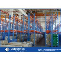 Buy cheap Durable Multilayer Warehouse Racking High Strength Anti - Rust For Beverage Storage from wholesalers