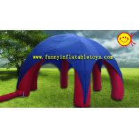 Wholesale Blue Advertising 6 Spider Legs Canopy Inflatable Dome Tent CE  /  UL Blower from china suppliers
