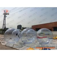 Wholesale Bumper Transparent Inflatable Water Walking Ball , Human Hamster Ball from china suppliers