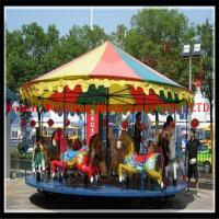 Wholesale Popular playground simple merry go round carousel for sale from china suppliers