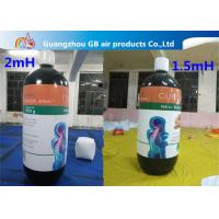 Wholesale Customized Inflatable Model Giant Advertising Inflatable Bottle Balloon For Sale from china suppliers