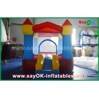 Wholesale Custom Inflatable Bouncy Castle With Slide For Children/Family Party from china suppliers