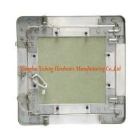 Quality Green Gypsum Board Aluminum Access Panel With Steel Wire Hook for sale