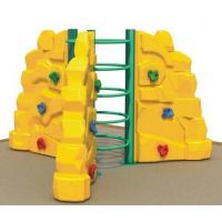 Wholesale Guangzhou factory hot sale kids used Plastic rock climbing wall from china suppliers