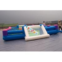 Buy cheap Playground Large Inflatable Football Game / Inflatable Soccer Field For Rental from wholesalers