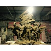 Wholesale The Red Army Wall Relief Sculpture Royally Wall Decor Size Customized from china suppliers