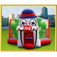 Wholesale Clown Pattern Inflatable Bouncing Castle / Playhouse For Rental Anti - UV from china suppliers
