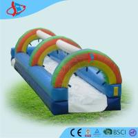 Wholesale CE Inflatable Pool Water Slides For Adults / Fun Garden Water Slides from china suppliers