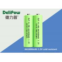 Quality Green Color Low Temperature Rechargeable Batteries AA1600mah Capacity for sale