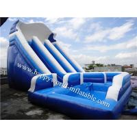 China commercial water slide , nip slip on a water slide , inflatable water slide clearance on sale