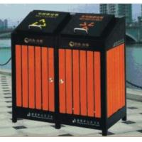 Wholesale Wooden Trash Can.Outdoor trash bins from china suppliers