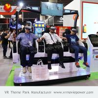 3 Seats Vertual Reality Experinece Vr Cinema Simulator With Electric Control System