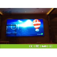 Buy cheap 1R1G1B HD P4 Indoor LED Display , Front Maintenance Series LED Advertising from wholesalers