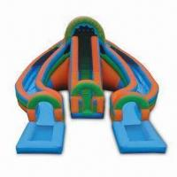 18oz PVC Coated Fire Water/Inflatable Slide with CE/UL/SGS/EN71 Marks and 3 Year Warranty