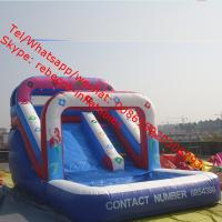 China Slide Game    Inflatable Water Slide Inflatable Slide Pool Slide Water Park on sale