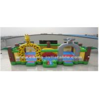 Wholesale Animal giant inflatable with bouncer, puffing giant from china suppliers
