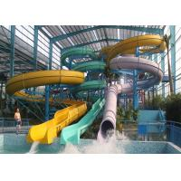 Wholesale Adult Body Tube Water Slide / Aqua Park Equipment 3 Years Warranty from china suppliers