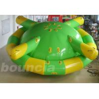 Wholesale Double Layer PVC Fabric Inflatable Saturn Rocker / Inflatable Floating Spinner from china suppliers