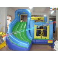 China Popular Kids Mini Inflatable Nylon / PVC Bouncer Slide, Inflatable Bounce Houses For Commercial, Home Use on sale