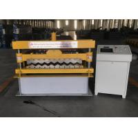 Wholesale 380V Wall Panel Roll Forming Machine Corrugated Tile Roll Forming Machine from china suppliers