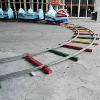 Wholesale Rail electric sightseeing small train manufacturers custom large amusement equipment new custom sales from china suppliers