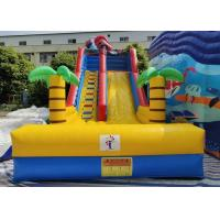Wholesale Lyons new design outdoor commercial large inflatable bouncer water slide for kids from china suppliers