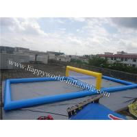China inflatable volleyball court , inflatable water volleyball court , beach volleyball court on sale