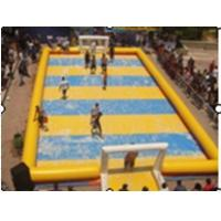Wholesale Children Inflatable Soccer Field / Inflatable Football Pitch For Coaching from china suppliers