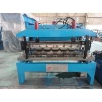 Wholesale 0.6mm Glazed Steel Sheet Roof Tile Forming Machine Hydraulic Decoiler 5 Tons from china suppliers