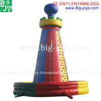 Wholesale inflatable climbing wall, inflatable rock climbing wall, inflatable climber, from china suppliers