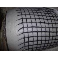 Wholesale Geocomposite PET / Fiberglass Geogrid Ascension With Geotextile Composite Geogrid from china suppliers