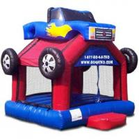 Buy cheap Children Commercial 0.55mm PVC Inflatable bouncer, Inflatable Jumpers Bouncers from wholesalers