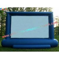 Wholesale Professional Projection Inflatable Movie Home Theater Screens , Backyard Cinema from china suppliers