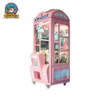 China Telephone Crown Coin Operated Toy Vending Machines LED Light With Music on sale