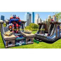 Quality theme superman inflatable playground , inflatable amusement park , inflatable for sale