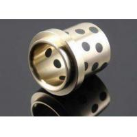 Wholesale Copper Cast Bronze Bearings / Flanged Bronze Bearings -250~+400℃ from china suppliers
