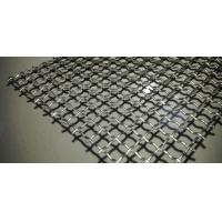 Wholesale Lock Crimped Vibrating Woven Wire Screen Flat Panel High Loading Capacity from china suppliers