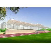 China Athletic Field Tent Structure Architecture Fashionable Tensile Structure Buildings on sale