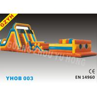 Wholesale Inflatable Obstacle Courses YHOB-003 with 0.55mm PVC Tarpaulin for Square Active from china suppliers
