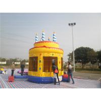 Wholesale Birthday Cake Bouncy Castle (CYBC-55) from china suppliers