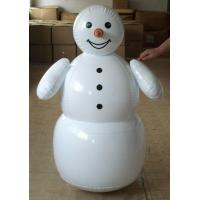 Wholesale pvc inflatable snow man for Christmas festival toy/ inflatable toys for Christmas from china suppliers