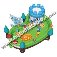 Wholesale Inflatable combo fun city,Inflatable jumping land,Inflatable amusement park from china suppliers