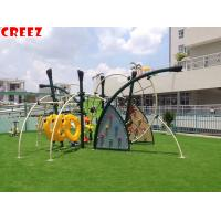Wholesale Physical Exercise Childrens Outdoor Playset 700*450*300cm Dimension CREEZ from china suppliers