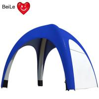 China Commercial 0.5 Nylon Oxford blue color inflatable spider tent on sale