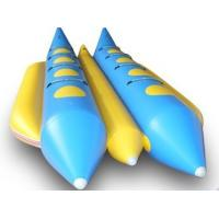 Wholesale Double Persons Commercial grade small  banana boat durable with PVC Bottoms from china suppliers