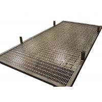 Wholesale Custom Frame Design Stainless Steel Interior Partition With Rigid Weave Mesh from china suppliers